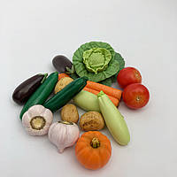 Набір фігурок із полімерної глини «Овочеве рагу», фото 1