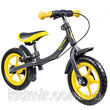 Беговел детский желтый Lionelo Dan Plus 51815
