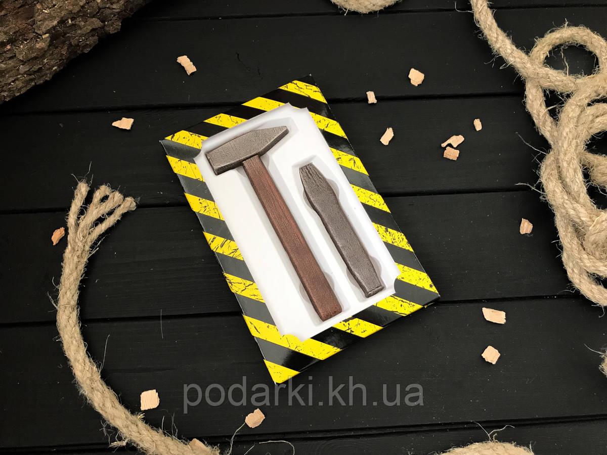 Шоколадные мини инструменты Плотник