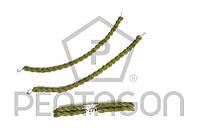 Резинка для ботинок Pentagon (зеленая) 2шт