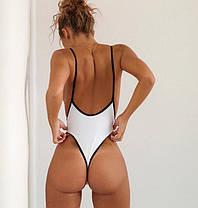 Стильный сдельный купальник бикини Монокини, фото 3