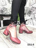 Эксклюзивные открытые женские туфли на каждый день /женская обувь/ 1211-5