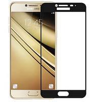 Защитное стекло для Samsung Galaxy J7 j710 2016 Full Cover Rinco (Black)
