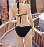 Стильный ажурный вязаный купальник Монокини, фото 4