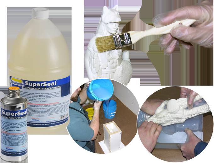 Капсулятор для работы с пористыми поверхностями SuperSeal (США) предотвращение залипания на мастер-модель