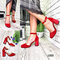 Туфли каблук - платформа