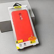 Чехол SMTT Xiaomi Redmi 5+Plus Красный
