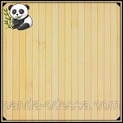 Бамбукові шпалери світлі, 1,5 м, ширина планки 12 мм / Бамбукові шпалери