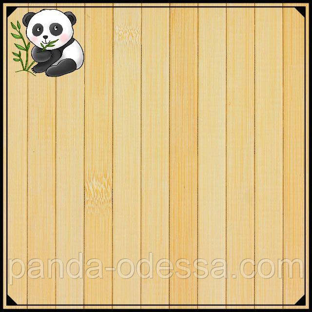 Бамбуковые обои светлые,1,5 м, ширина планки 17 мм / Бамбукові шпалери