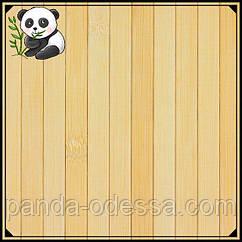 Бамбукові шпалери світлі,1,5 м, ширина планки 17 мм / Бамбукові шпалери