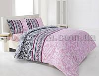 Постельное белье Issimo Home Caren pink Полуторный комплект