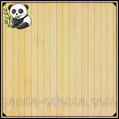 Бамбукові шпалери світлі, 2 м, ширина планки 12 мм / Бамбукові шпалери