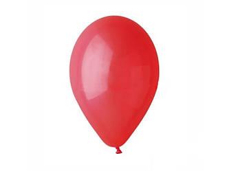 """Шары воздушные пастель Красные 8""""(21 см) 100шт."""