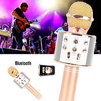 Караоке микрофон беспроводной и портативная колонка 2в1