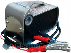 DC TECH 12В-40 насос для перекачки дизельного топлива, 12 Вольт, 40 л/хв