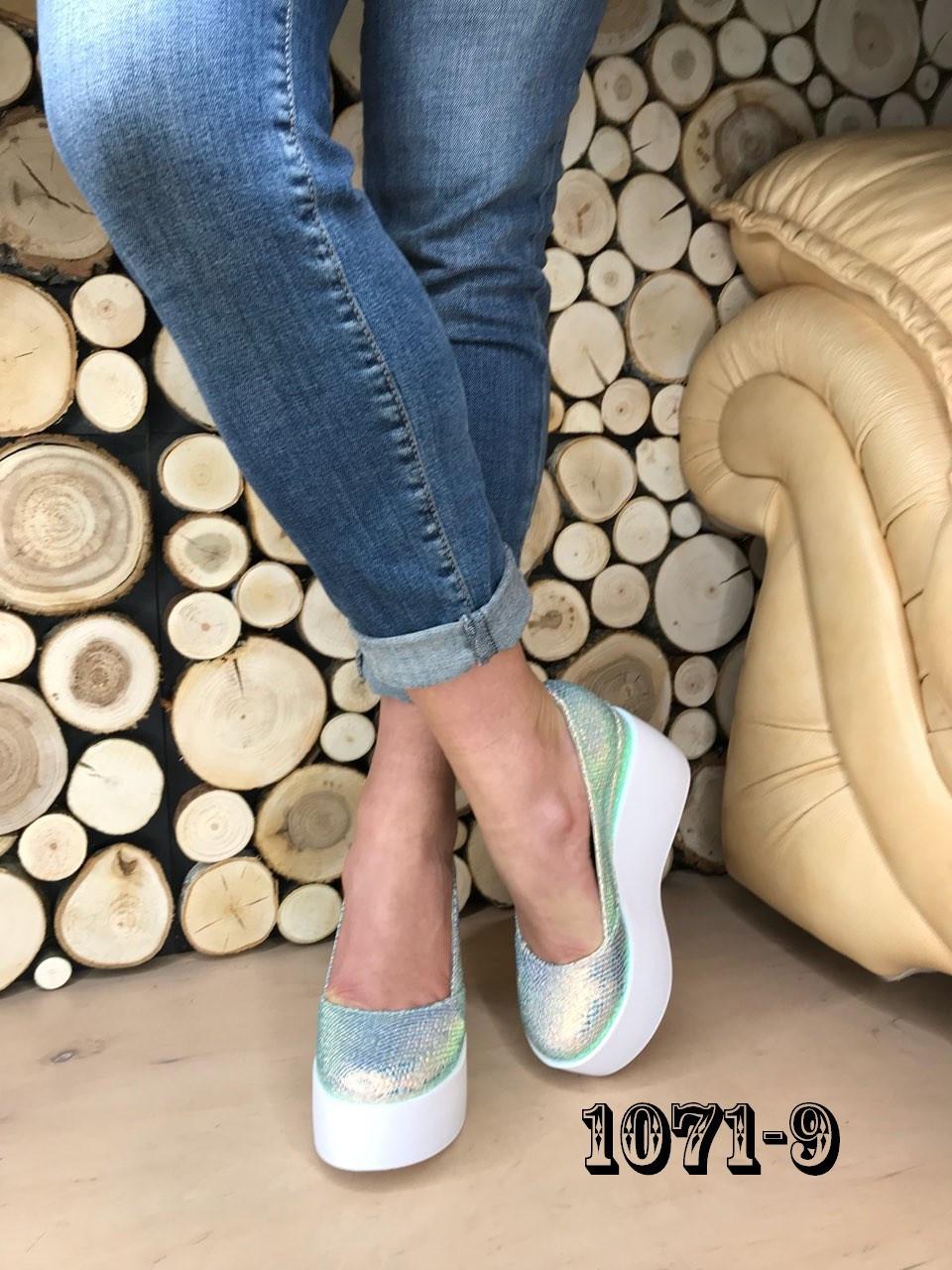 Туфли на maxi платформе /женская обувь/ 1071-10