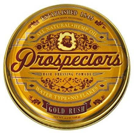 Gold Rush Pomade 128g (помада с натуральным блеском и средней фиксацией) Prospectors