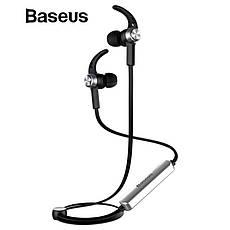 Оригинальные Bluetooth наушники гарнитура Baseus Licolor Magnet B11 White-Silver, фото 2