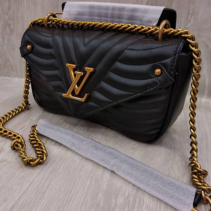 Сумка Люкс-реплика Louis Vuitton черная, фото 2