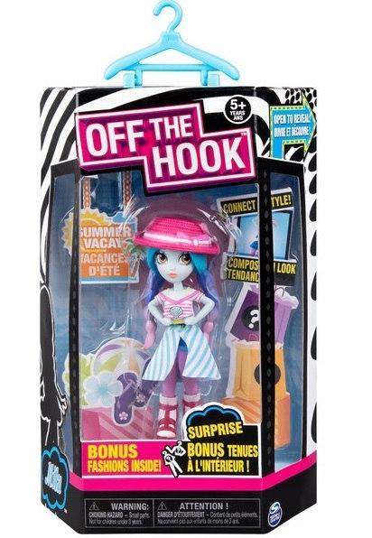 """Off the Hook:стильная кукла Мила (серия """"Летний отпуск"""") SM74300/0182"""