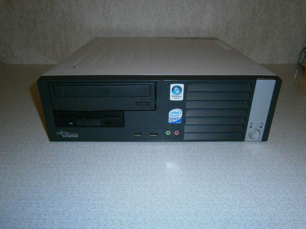 Системный блок, компьютер, Intel Core i3 2120, 4 ядра по 3,2 ГГц, 8 Гб ОЗУ DDR-3, HDD 160 Гб, видео 1 Гб