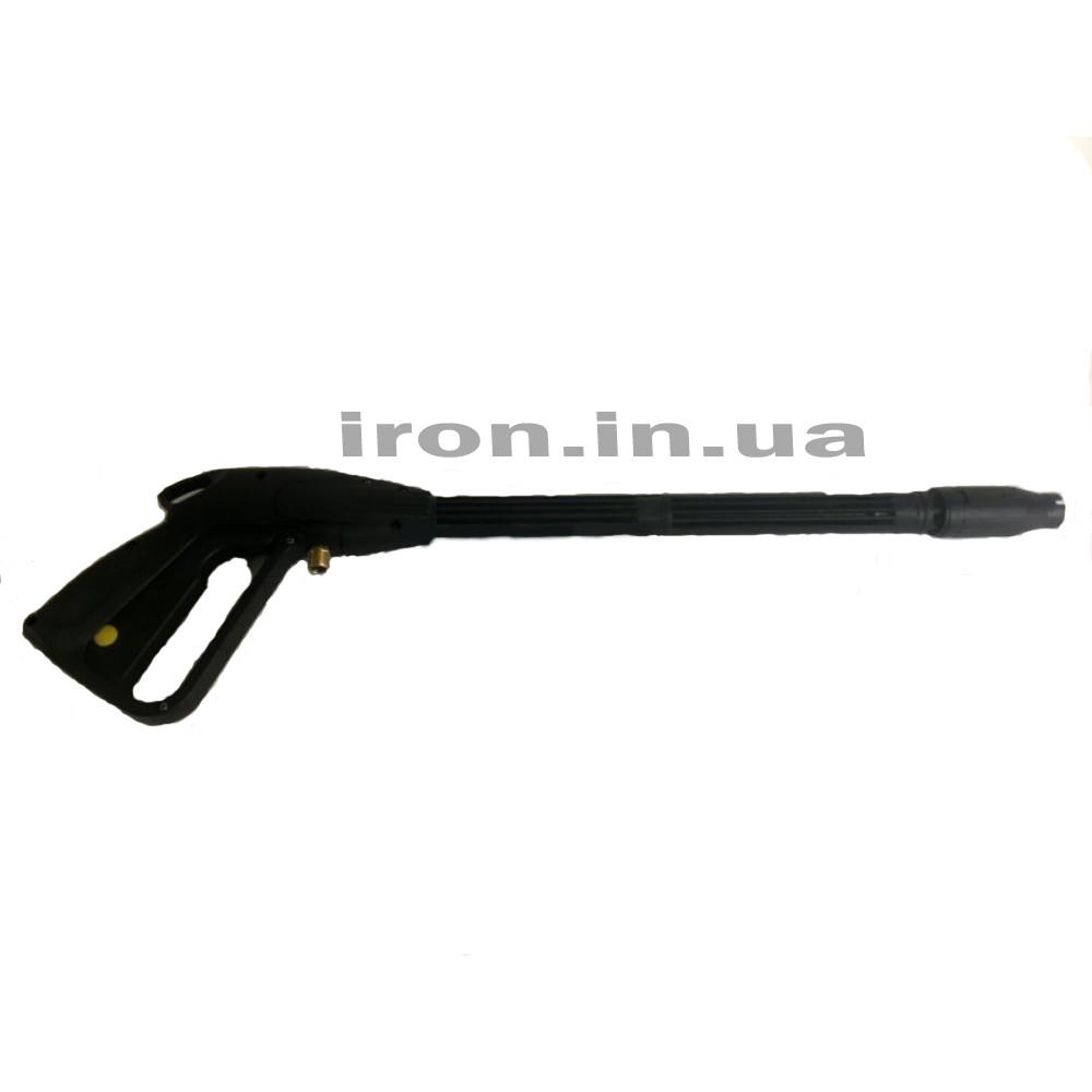 Пистолет для авто-мойки высокого давления под резьбу 14 мм подключение латунь соединение копья пластик резьба