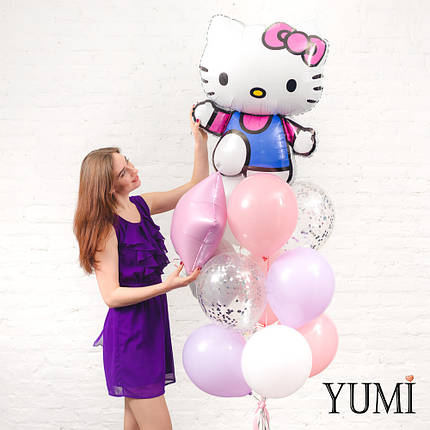 Нежная связка из воздушных шариков для девочки, фото 2