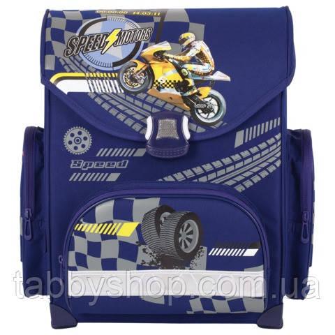 Ранец ортопедический каркасный TIGER Family Master Collection Мотоцикл