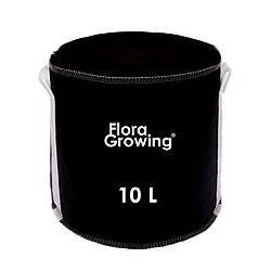 Grow Bag 10 л - Агротекстильный горшок 24х24 см