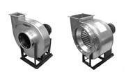 Радиальные вентиляторы с различной мощностью и расходом воздуха