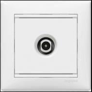 Механизм розетки TV простой 2400МГц 1.5dB белый Legrand Valena 774429