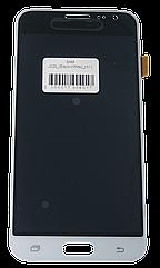 Экран + сенсор (модуль) для Samsung Galaxy J3 (2016) (J320) белый