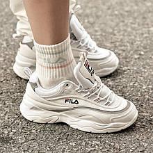 Жіночі кросівки Fila Ray White