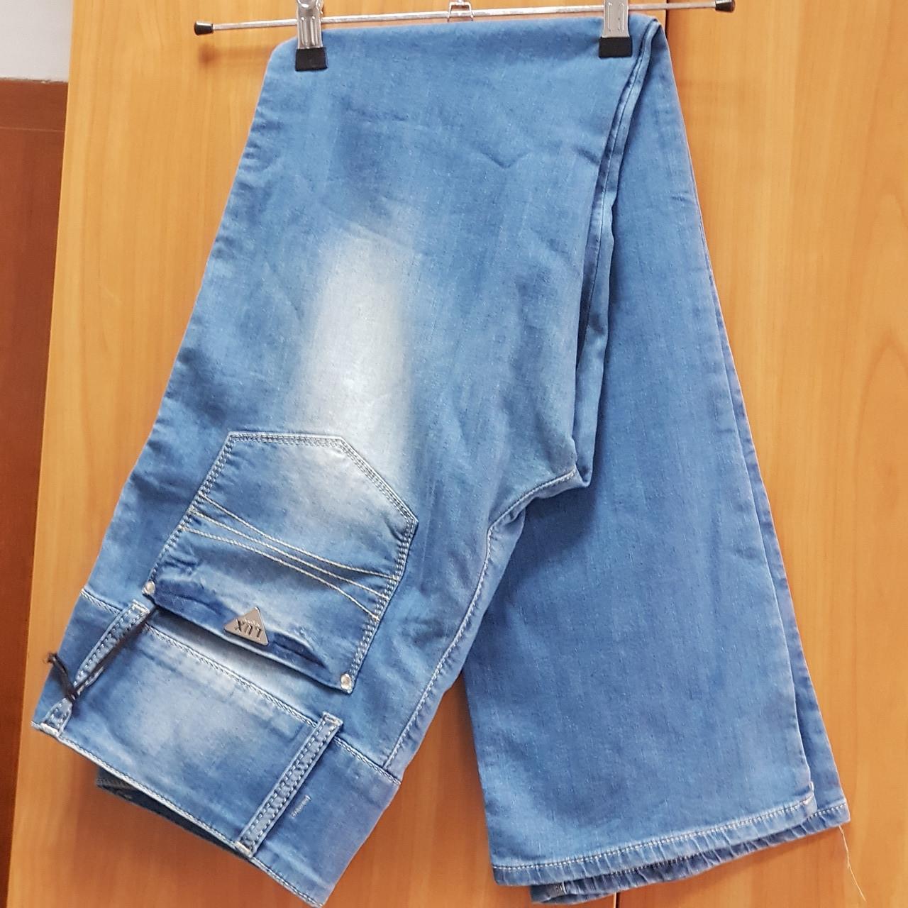 Джинсы женские летние Moschino синие