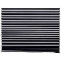 ШОТТИС Жалюзи плиссированные, блокирующие свет, темно-серый, 100x190 см, 90369507, ИКЕА, IKEA, SCHOTTIS