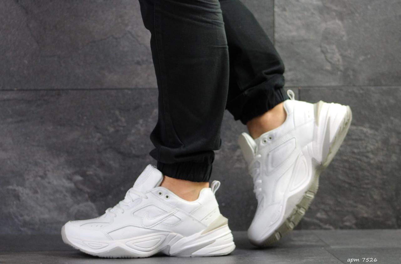 19d38bd2 Кроссовки мужские Nike M2K Tekno, белые / чоловічі кросівки Найк (Топ  реплика ААА+
