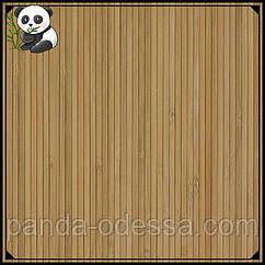 Бамбуковые обои темные, 0,9 м, ширина планки 5 мм / Бамбукові шпалери