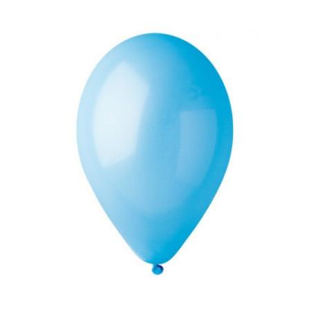 """Шары воздушные пастель голубой 12""""(30 см) 100шт"""