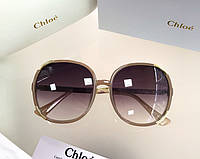 Женские солнцезащитные очки в стиле Chloe (712) , фото 1
