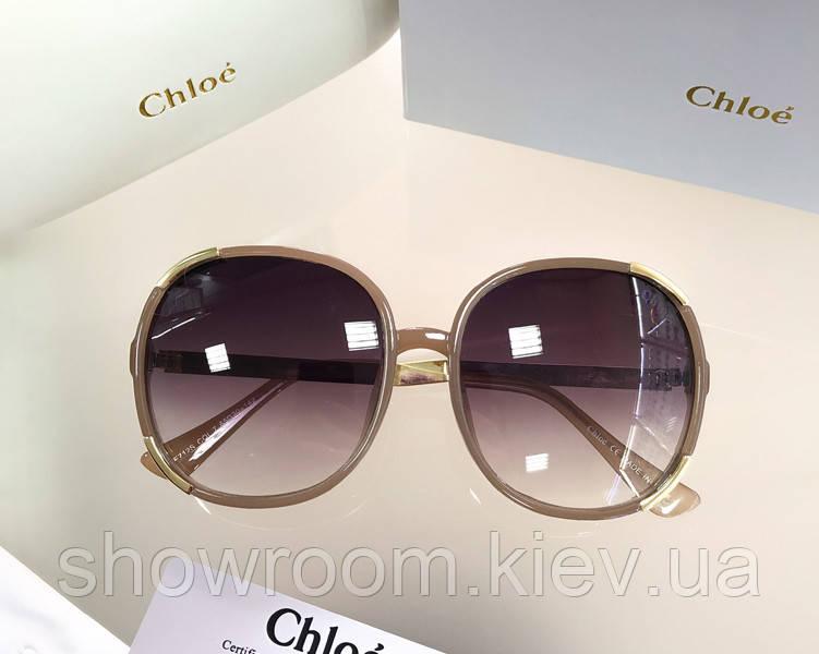 Женские солнцезащитные очки в стиле Chloe (712)