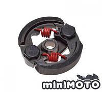 Сцепление TUNNING 2 колодочное (без шпонки) красные пружинки минимото, детский квадроцикл, фото 1