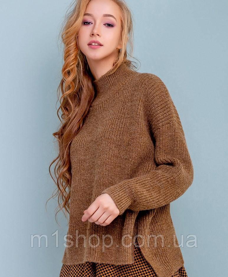 Женский прямой свитер (3266-3263-3261 svt)