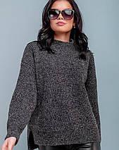 Женский прямой свитер (3266-3263-3261 svt), фото 2