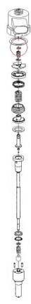 Регулировочные шайбы форсунки Common Rail Bosch. 4х2,3 мм. 1,72-1,90 мм., фото 2