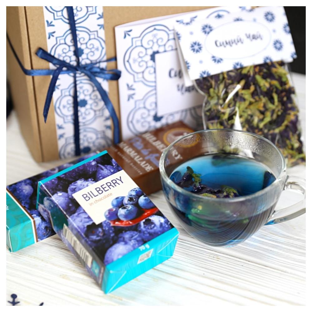 """Подарочный набор """"Синий чай"""""""