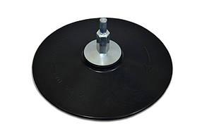 Диск резиновый с липучкой Spitce для дрели 125 мм (18-990)