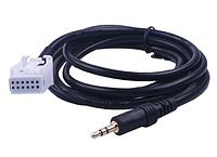 AUX кабель для Mercedes-Benz W203 C класса W169 W245 W203 W209 W164 Мужской разьем, фото 1
