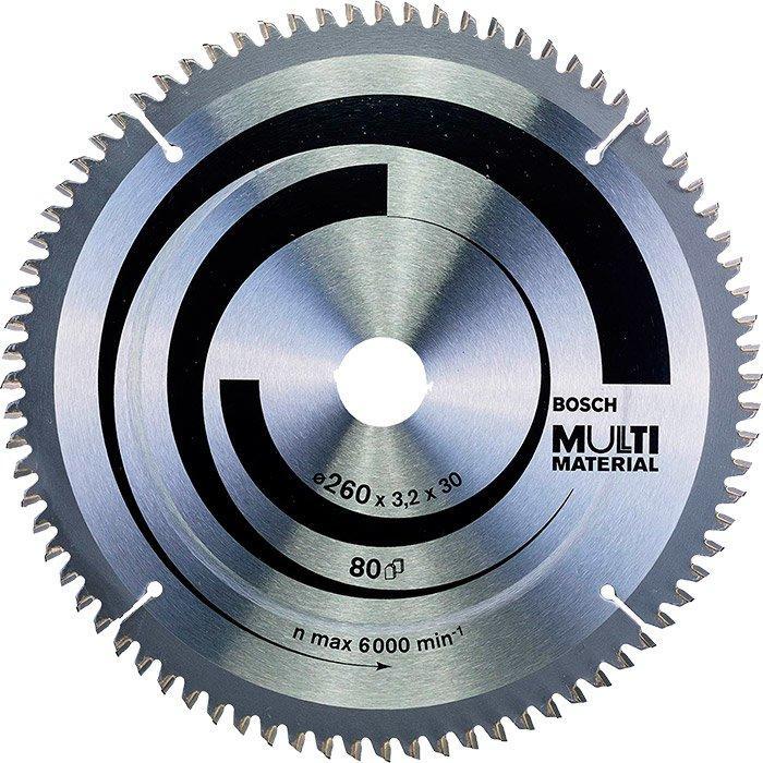 Пильный диск Bosch Multi Material 2603,230 мм, 80 HTLCG (2608641204)