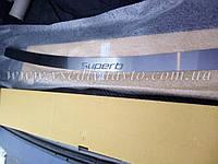 Накладка на бампер Skoda Superb II универсал с 2009- (NataNiko)