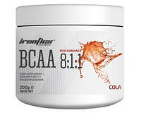 Аминокислоты IronFlex - BCAA 8:1:1 (200 грамм) cola/кола